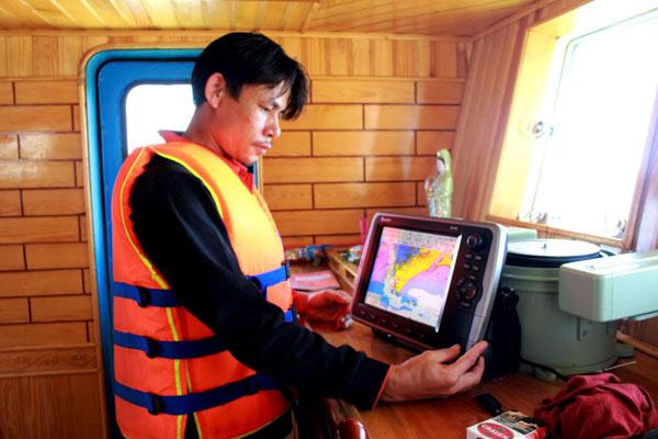 thiết bị giám sát hành trình tàu cá