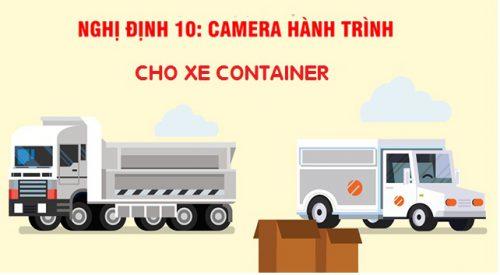 camera hành trình cho xe container