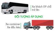 quy định lắp camera hành trình cho xe tải